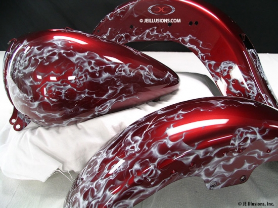 Car Paint Shop >> Wickedly Sweet | Custom | Cutting Edge Illusions