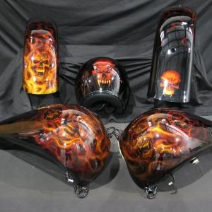 Real Fire Custom Cutting Edge Illusions