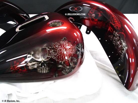 Skulls Amp Scorpions Custom Cutting Edge Illusions