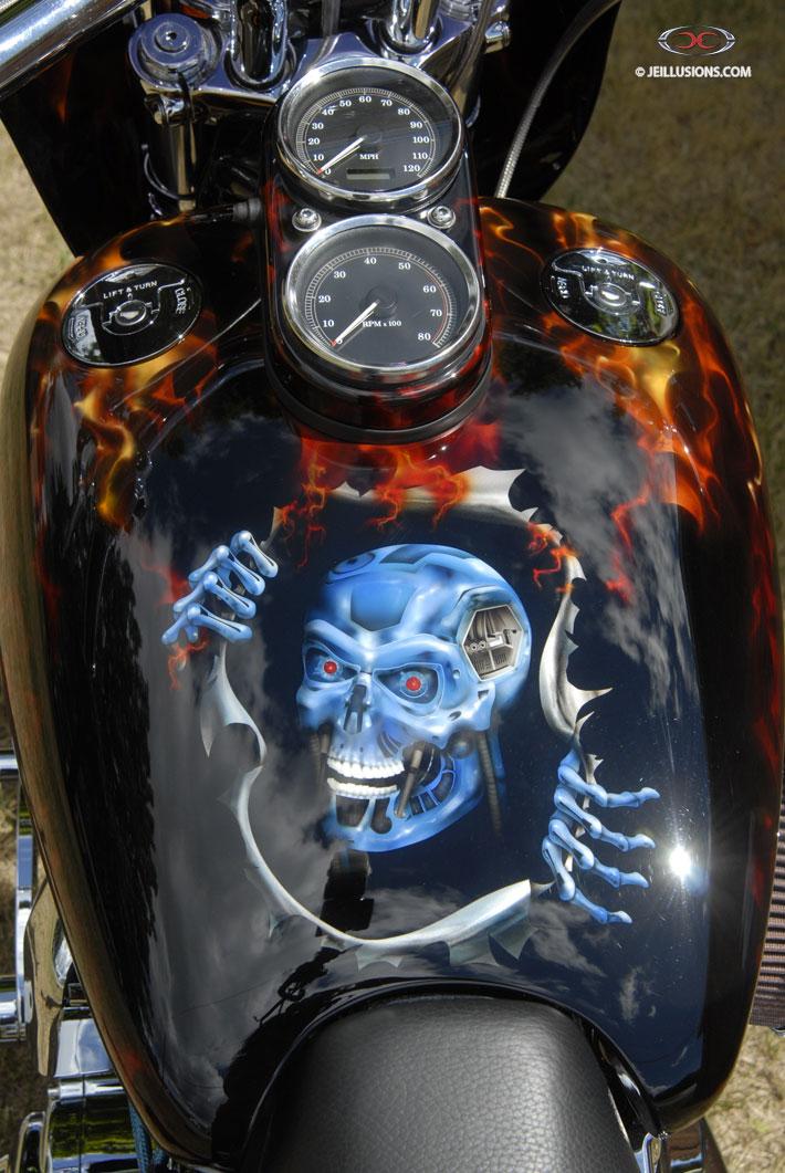 Terminator Fire Project Custom Cutting Edge Illusions