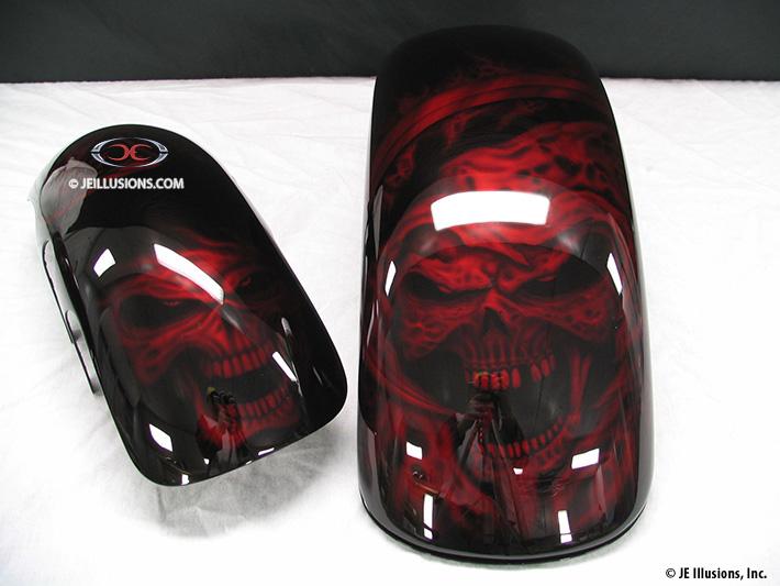 Reaper Nightmare Harley Dyna Custom Custom Cutting