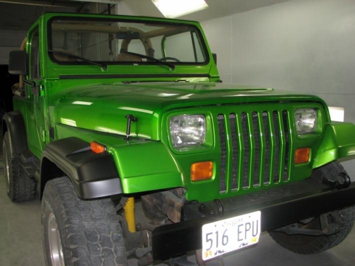 Used Jeep Wrangler Parts >> Antifreeze 1995 Jeep Wrangler   Custom   Cutting Edge Illusions