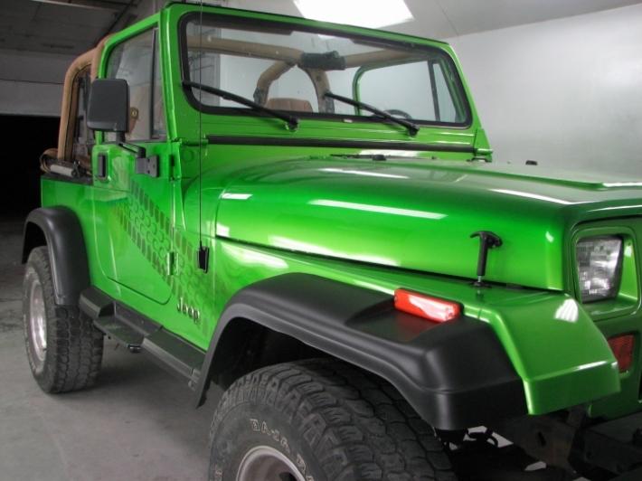 Antifreeze 1995 Jeep Wrangler | Custom | Cutting Edge ...
