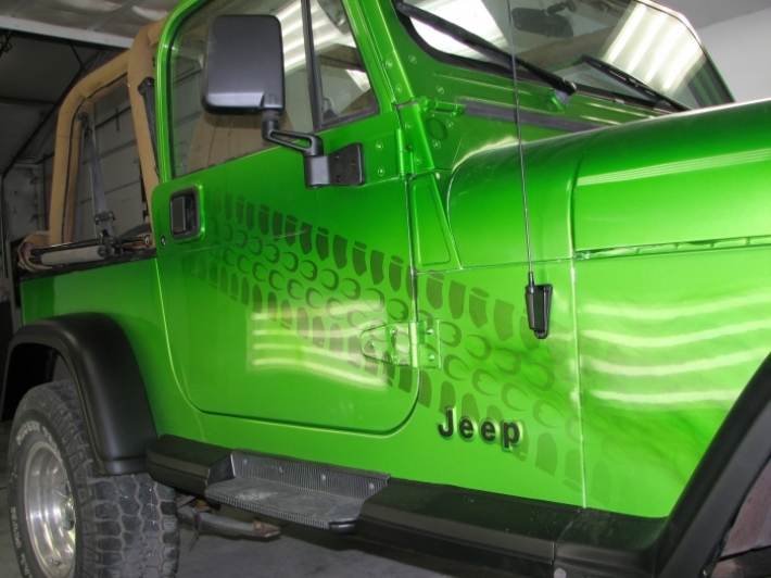 Antifreeze 1995 Jeep Wrangler   Custom   Cutting Edge ...
