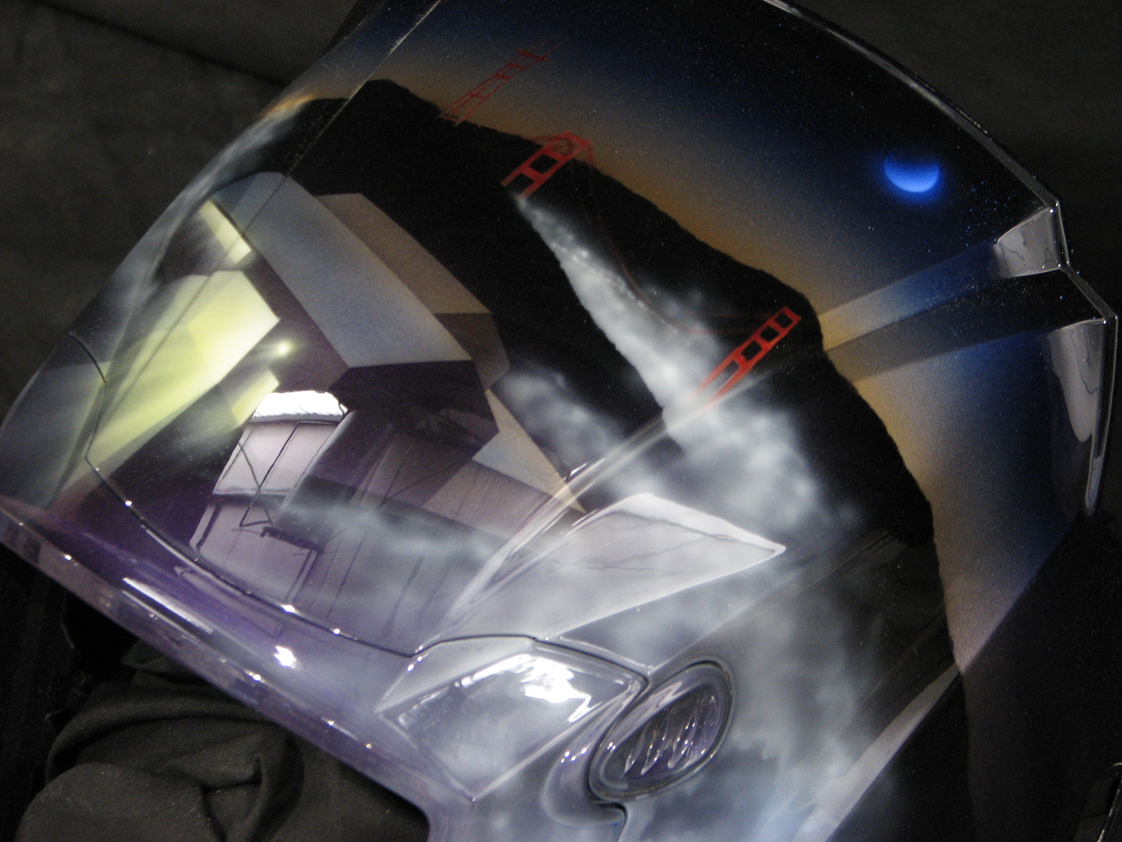 San Francisco Welding Helmet Custom Cutting Edge Illusions