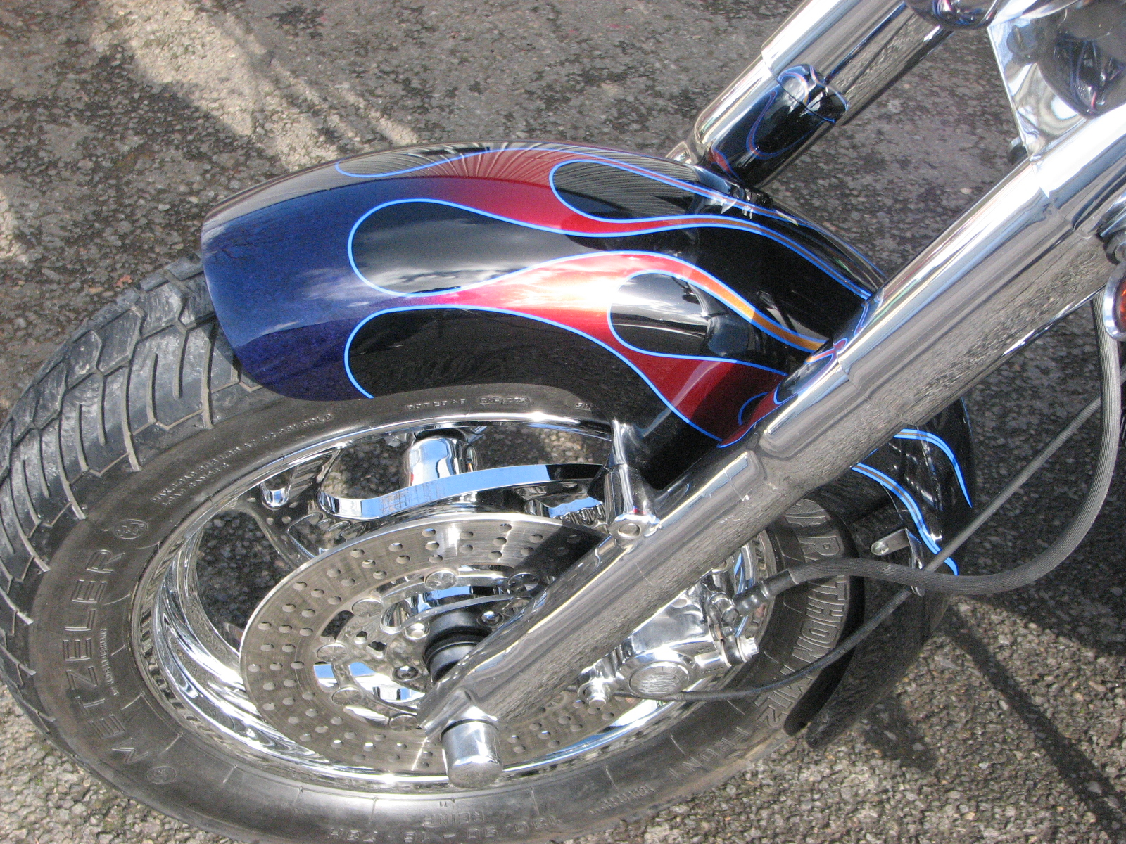 Freedom Harley Davidson >> Blended Flame 1994 Heritage Softail   Custom   Cutting ...