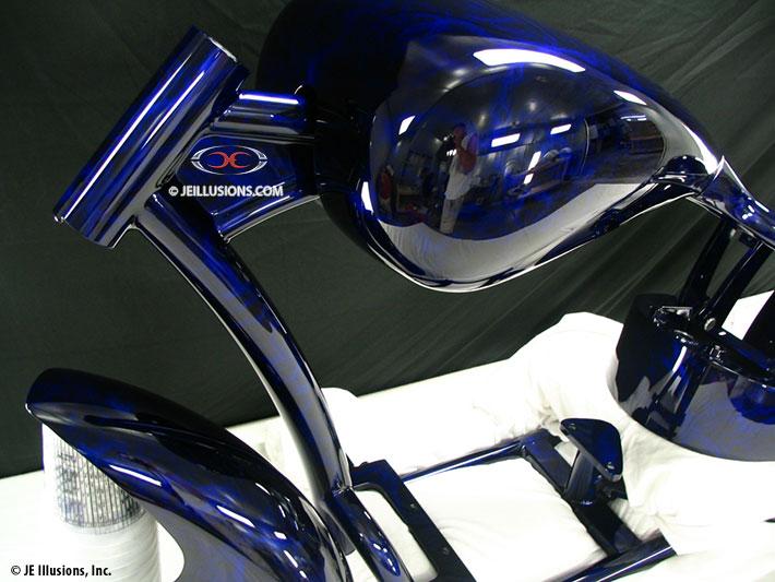Blue Cobalt Marble Custom Cutting Edge Illusions