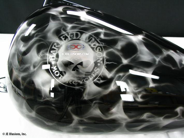 Freedom Harley Davidson >> Blazing White Harley Softail   Custom   Cutting Edge Illusions